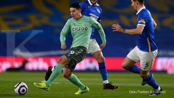 Hasil laga Brighton vs Everton di Liga Inggris