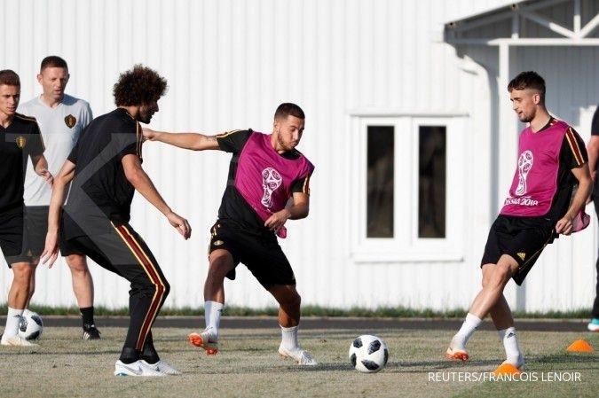Romelu Lukaku jadi prioritas Chelsea, Eden Hazard pilihan terakhir