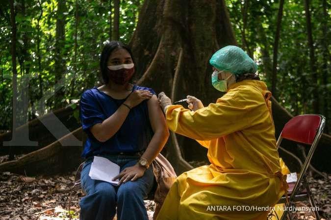 Vaksinasi corona di Jakarta capai 80% target, ini tanggapan Gubernur Anies Baswedan