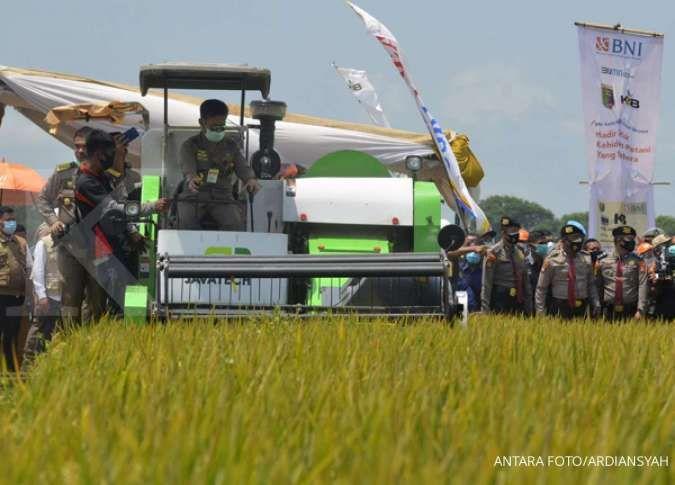 Menteri Pertanian Syahrul Yasin Limpo. ANTARA FOTO/Ardiansyah/hp.