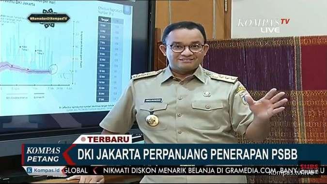 Anies: Perpanjangan PSBB jadi penentu new normal di Jakarta