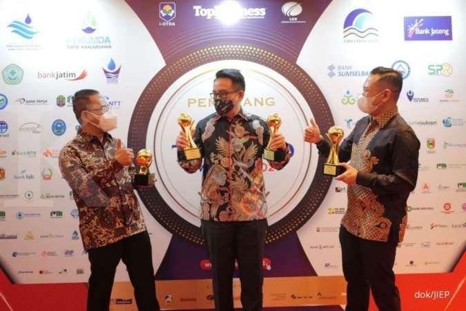 PT JIEP sabet 3 gelar bergengsi dalam ajang top BUMD 2021