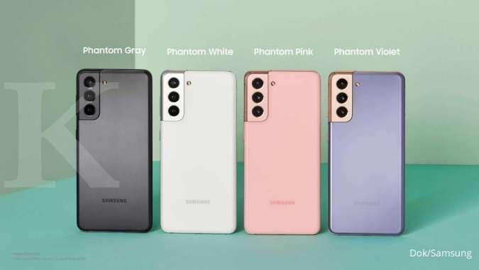 Varian warna Samsung Galaxy S21