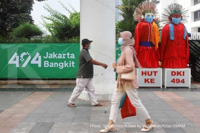 Rayakan HUT Jakarta ke-494, Pasar Online Jakpreneur Resmi Digelar