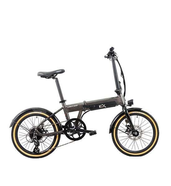 Sudah beredar! Harga sepeda lipat United Exion e-bike tak ramah di kantong