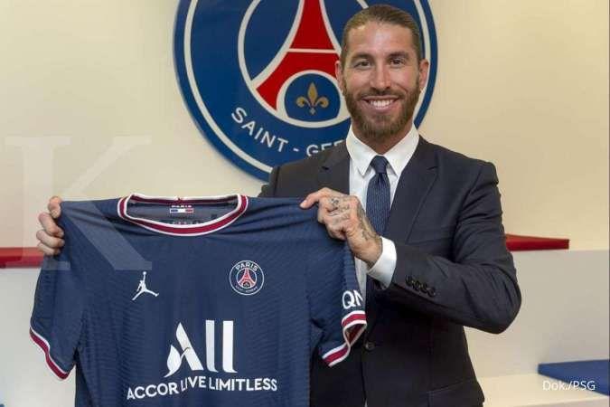 Sergio Ramos bisa pulih pekan ini, bakal debut bersama PSG di Ligue 1