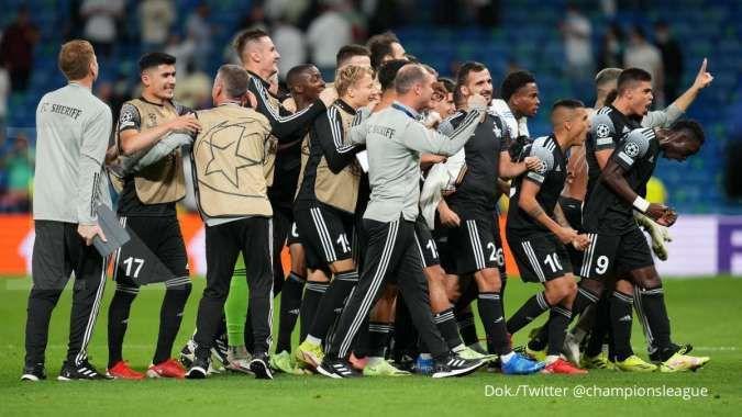 Hasil Liga Champions Real Madrid vs Sheriff Tiraspol