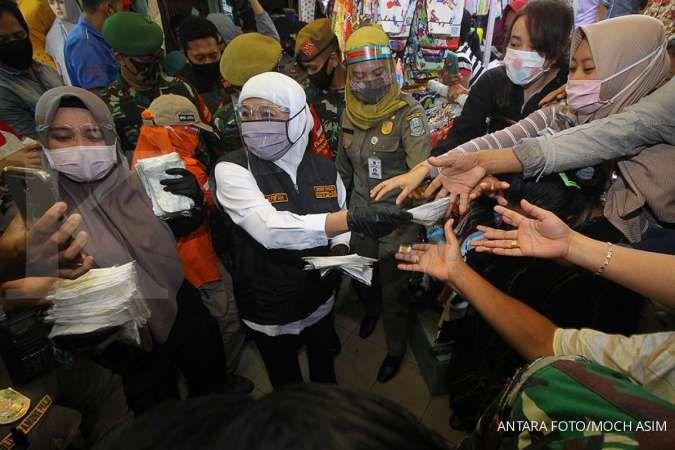Selama lima hari, angka kesembuhan corona di Jatim tertinggi di Indonesia