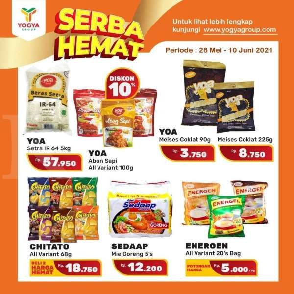Promo Yogya Supermarket 28 Mei-10 Juni 2021