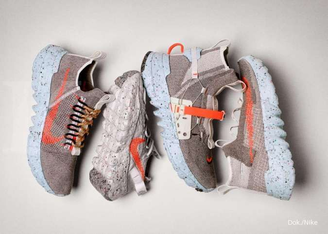 Ini tampilan Space Hippie, sneaker Nike yang terbuat dari limbah, akan rilis 11 Juni