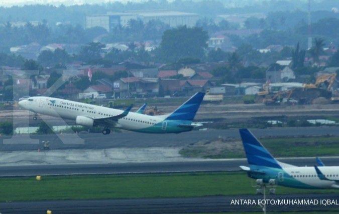 Pesawat Boeing Garuda dan Sriwijaya alami retak, Kemhub larang terbang