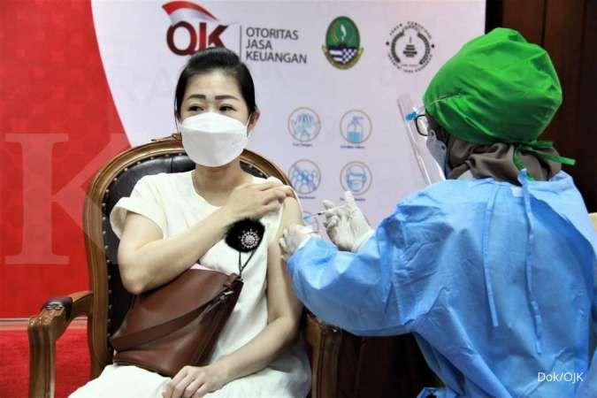OJK targetkan vaksinasi 10 juta orang hingga akhir 2021