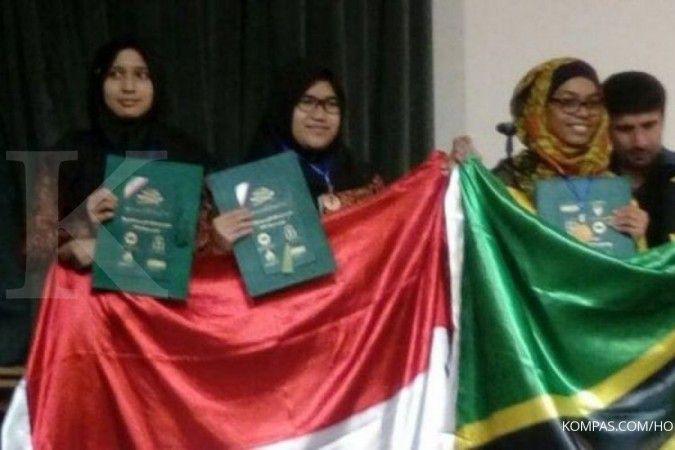 Tiga siswa SMA di Bandung raih medali olimpiade