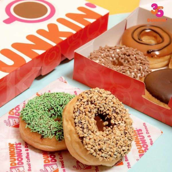 Promo Dunkin Donuts 8-11 April 2021, 18 Donuts Classic hanya Rp 100.000!