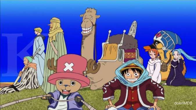 Anime One Piece, The East Blue dan Alabasta Saga tayang di Netflix mulai Juni 2020
