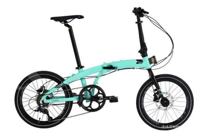 Baru lagi, ini harga sepeda lipat Element Ecosmo 8SP edisi Blibli yang tampil keren
