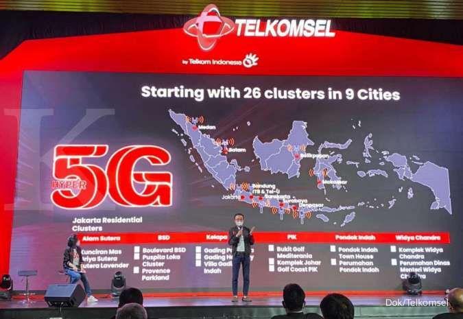 Telkomsel antisipasi lonjakan trafik data di tengah PPKM Darurat