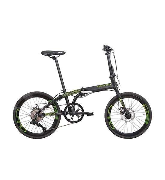 Beda dan gaya, harga sepeda lipat United Nigma 10S dipatok murah meriah