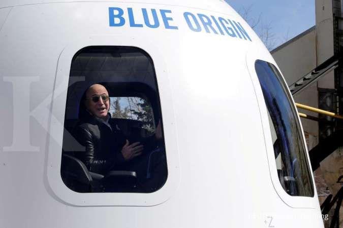 Blue Origin milik Jeff Bezos bersiap toreh sejarah baru pekan depan, apa itu?