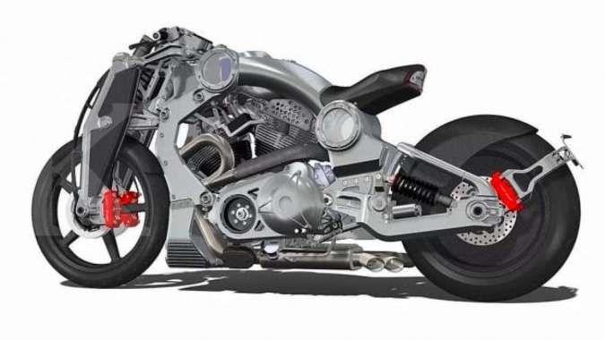 7 Sepeda motor termahal di dunia, ada yang punya rangka alumunium