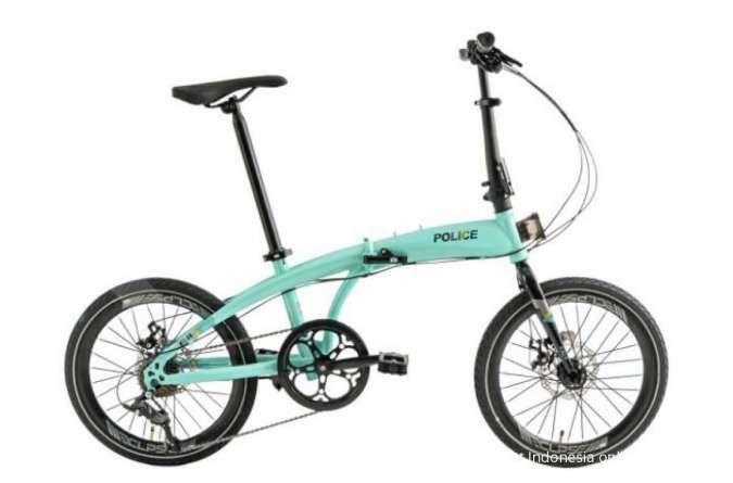 Warna baru! Harga sepeda lipat Police Milan tak sampai Rp 2 juta