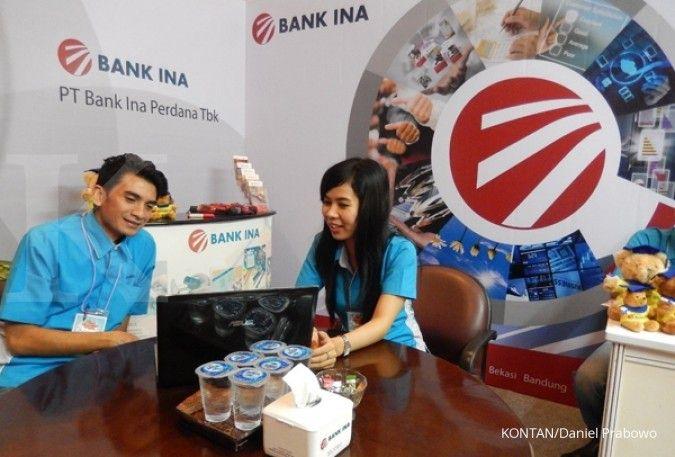 Bank Ina Perdana (BINA) kantongi laba bersih Rp 3,51 miliar di semester I