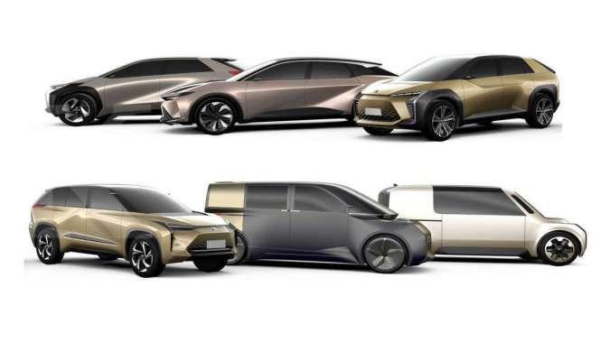 Peluncuran gambar teaser mobil listrik Toyota