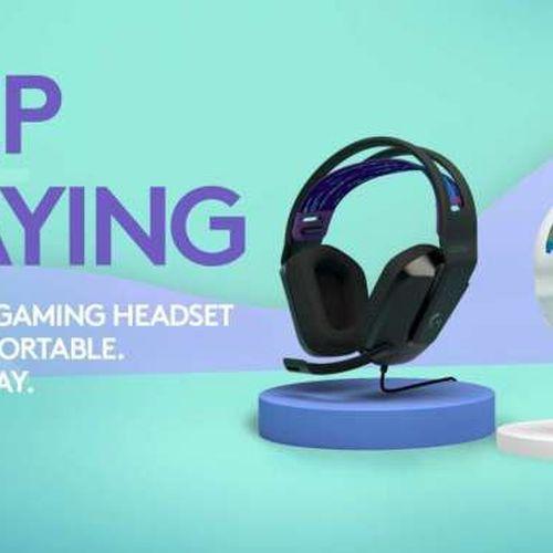 Logitech G Memperkenalkan Headset Gaming G335, Headset Baru dengan Tampilan Segar untuk Gamers Remaja