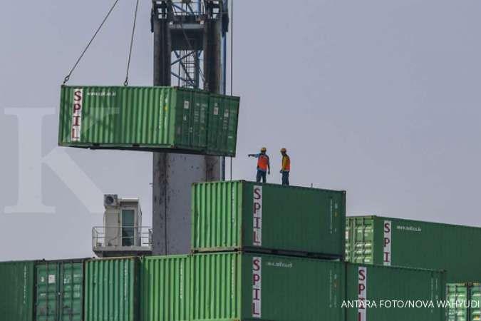 Waspada, impor barang modal & bahan baku turun