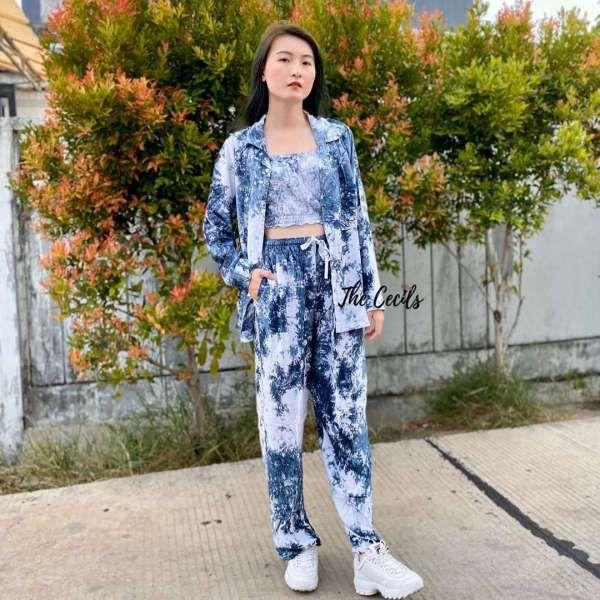 Menjemput untung dari usaha fesyen motif tye dye yang lagi ngehits