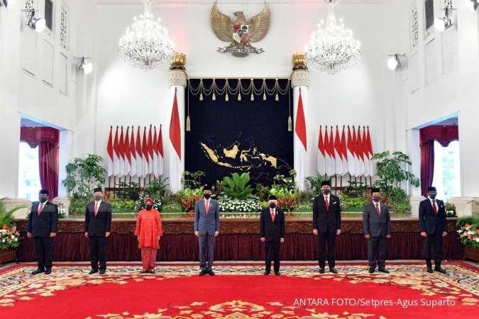 Isu reshuffle kabinet mencuat lagi, KSP: Yang pasti ada kementerian baru
