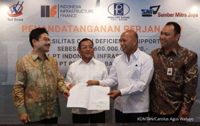 IIF gelontorkan dana Rp 600 miliar ke pengelola tol Pemalang-Batang