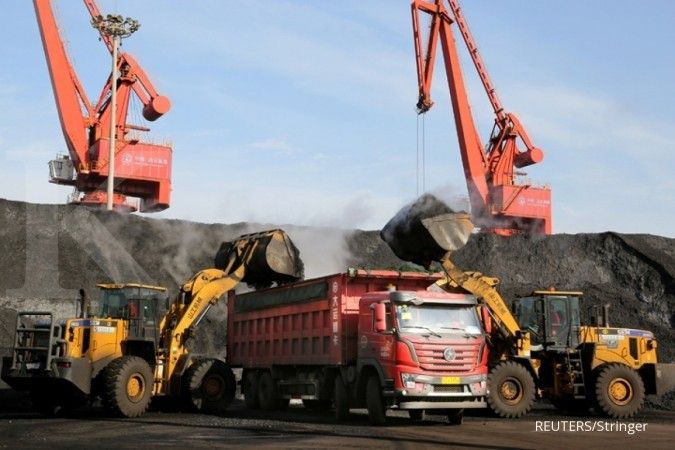 Tahun ini, China masih dalam jalur mendongkrak impor batubara lebih dari 10%