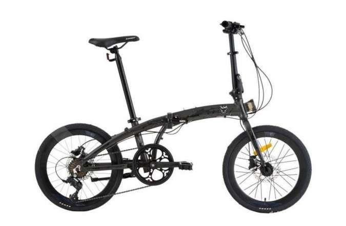 Keren! Harga sepeda lipat Element Ecosmo 8SP edisi Marvel Venom sedang didiskon