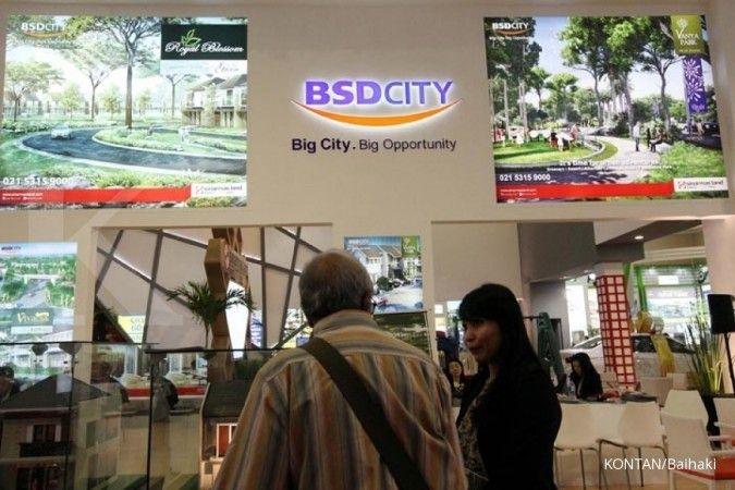 Pada kuartal I, Bumi Serpong Damai (BSDE) kantongi marketing sales Rp 2,5 triliun