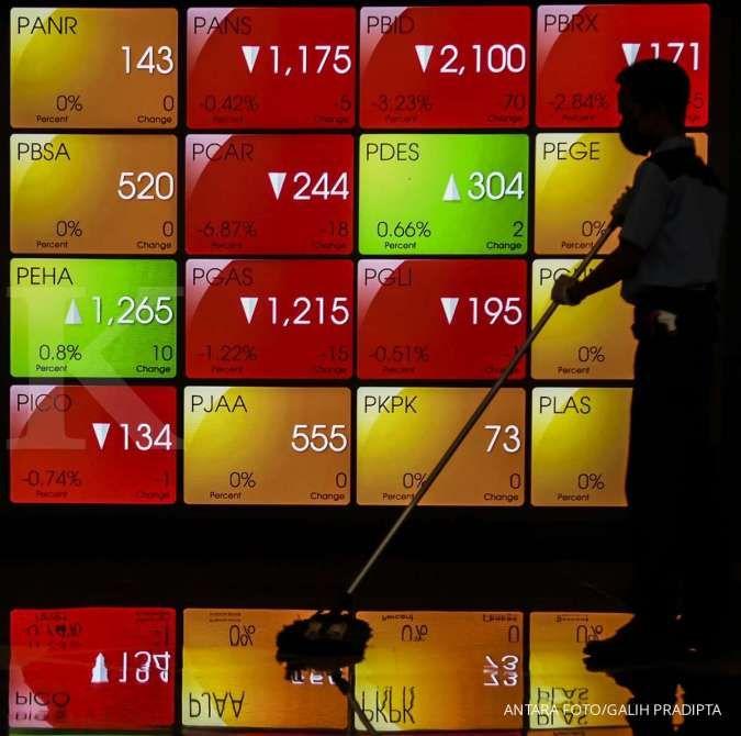 IHSG menguat 0,20% ke 5.975 pada sesi I hari ini, asing catat net buy Rp 55,16 miliar