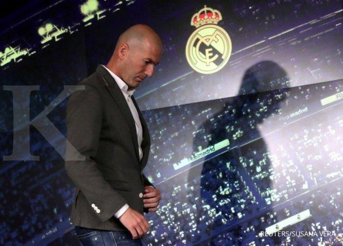 Diisukan diganti, ini kandidat kuat calon pengganti Zinedine Zidane di Real Madrid