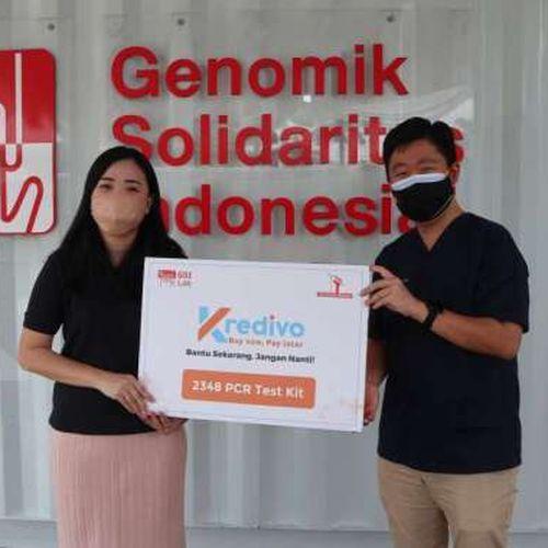 Kredivo Gandeng GSI Lab, Perluas Tes PCR di Indonesia Alokasikan Dana Sebesar US$100.000 atau Setara 2 Ribu Tes PCR