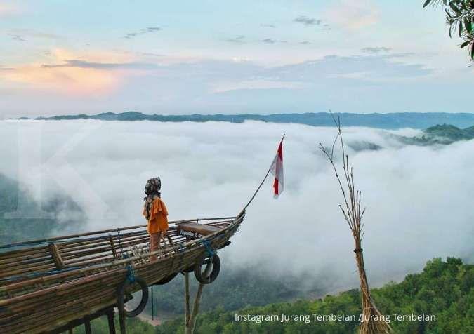 Jurang Tembelan seperti negeri di atas awan, cocok untuk tujuan liburan akhir pekan