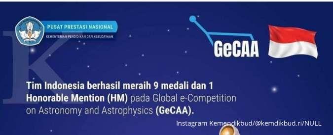 Selamat! Siswa Indonesia berhasil borong medali di olimpiade internasional