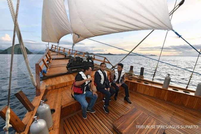 Jokowi akan kirim kapal untuk bersihkan perairan di Labuan Bajo