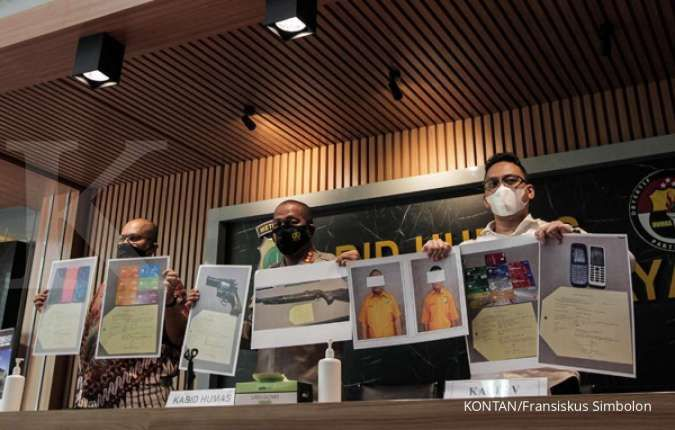 Polda Metro Jaya tangkap terduga pelaku penipuan mengatasnamakan staf Bank BTPN