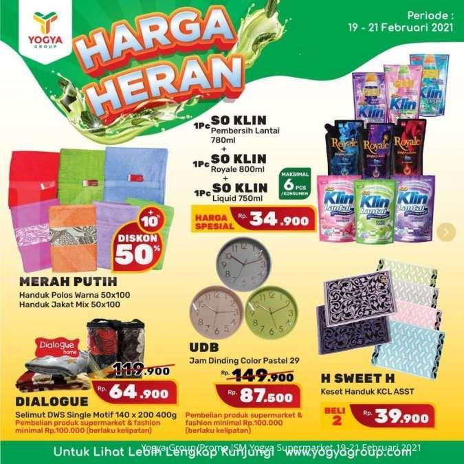 Promo JSM Yogya Supermarket 19-21 Februari 2021