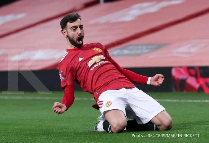 Jelang laga AC Milan vs Man United di Liga Europa