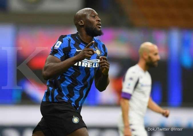 Inter Milan tolak tawaran pertama, Chelsea pantang mundur rekrut Romelu Lukaku