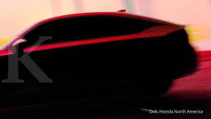 Teaser mobil Honda Civic Hatchback 2022