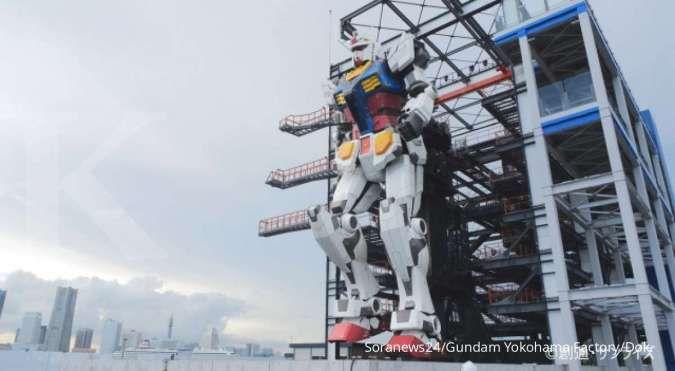 ILUSTRASI: Robot Gundam raksasa di Jepang