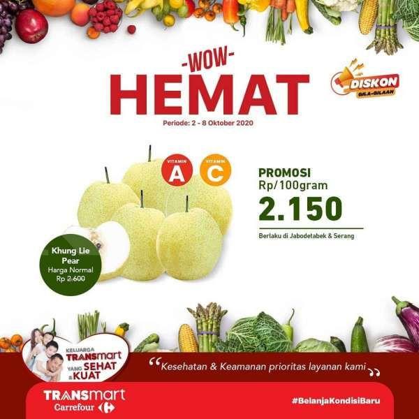 Promo Transmart Carrefour 2-8 Oktober 2020