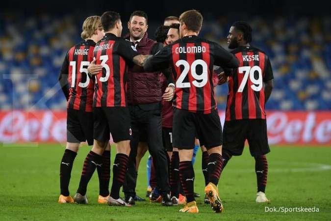 Jelang laga AC Milan vs Torino di Coppa Italia