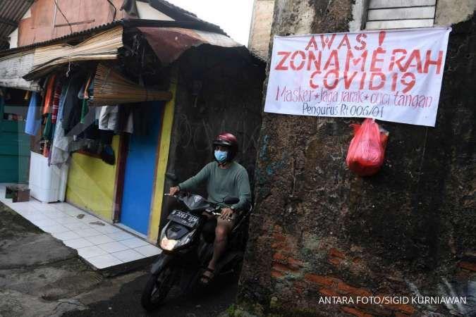 Waspada, zona merah Covid-19 di luar pulau Jawa per 18 Juli 2021 semakin banyak